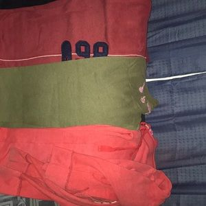 I am selling three sweat suits from pink